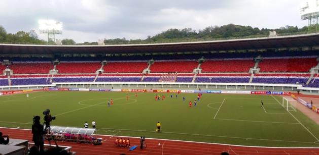 Le stade de Pyongyang qui accueillera la première rencontre qualificative pour France 2019 (photo DR)