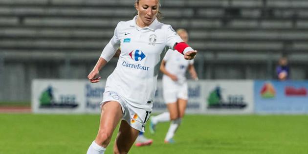 La Juvisienne Thiney compte 11 passes décisives (photo Giovani Pablo)