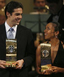 Kaka et Marta élus en 2007