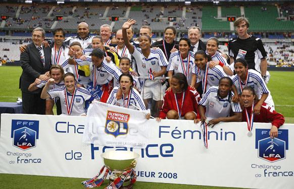 Les Lyonnaises détiennent le trophée
