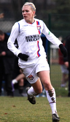 Lara Dickenmann a fait ses débuts en D1 (photo : Van Gol)