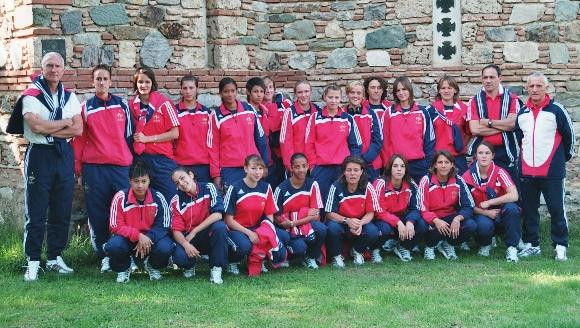 Les 19 ans lors du 1er tour en Macédoine (photo : DR)
