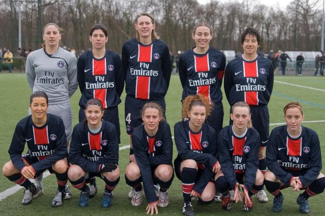 L'équipe du PSG (photo : Eric Baledent)