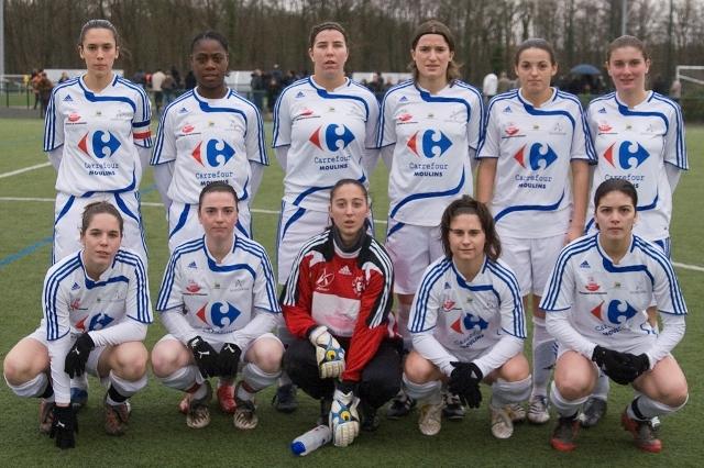 L'équipe du Nord Allier Yzeure (photo : Eric Baledent)