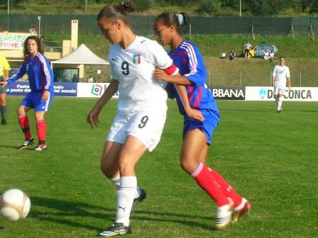 Akherraze lors du match face à l'Italie (photo : CD)
