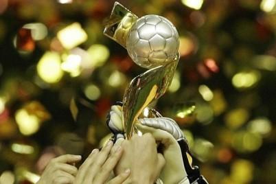 Le trophée de la Coupe du Monde (photo : AFP)