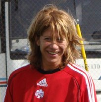 Carolina Morace, sélectionneur du Canada