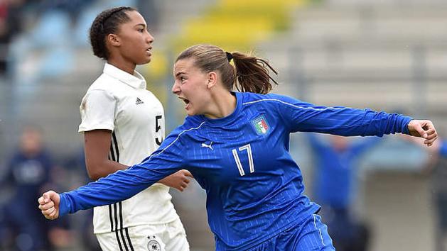 Fracas a surpris les Allemandes et permet à l'Italie de rêver d'une nouvelle finale (photo DFB)