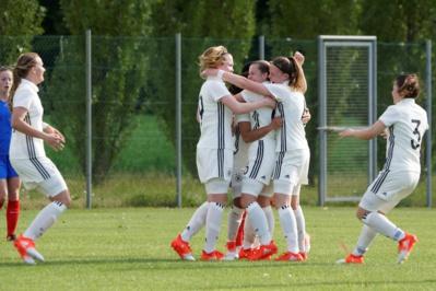 Jubel a ouvert le score en première période pour l'Allemagne