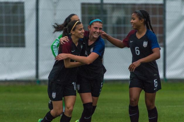 Les Etats-Unis joueront la finale face au pays hôte (photo US)