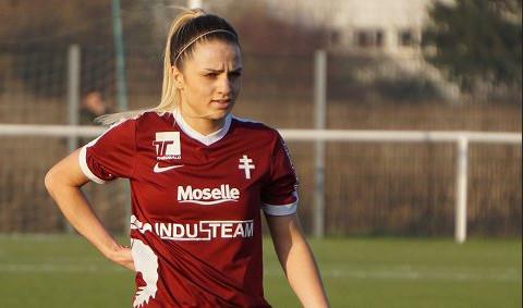 Melike Pekel entre l'espoir pour le FC Metz (photo footofeminin)