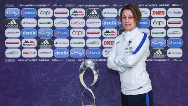 Sandrine Soubeyrand (photo UEFA.com)