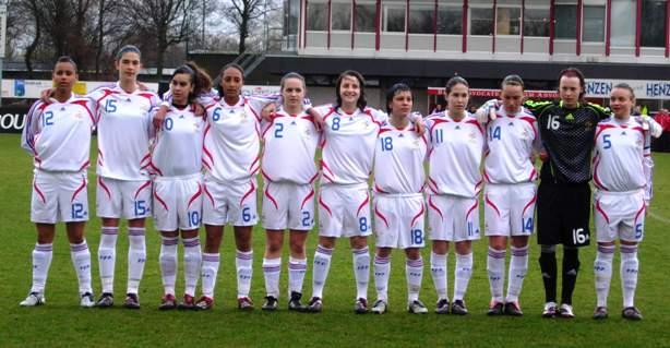 17 ans : France - Pays de Galles : 5-0