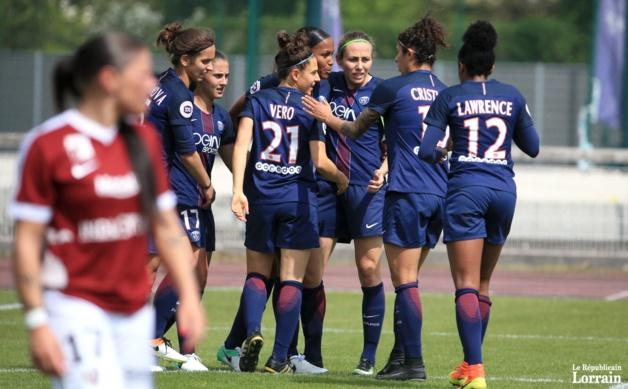 Les Parisiennes dans une bonne dynamique (photo Pascal Brocard/PQR)