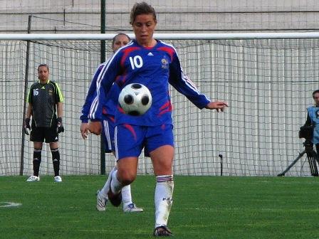 Camille Abily a inscrit son 9e but en sélection