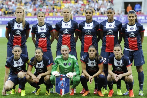 Le onze du PSG (photo PSG)