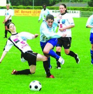 Soyaux et Bilbault battues par Juvisy en difficulté (photo : CL)