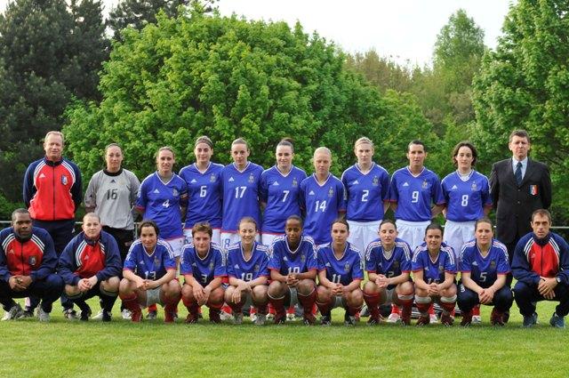 L'équipe de France (photo : Denis Dujardin)