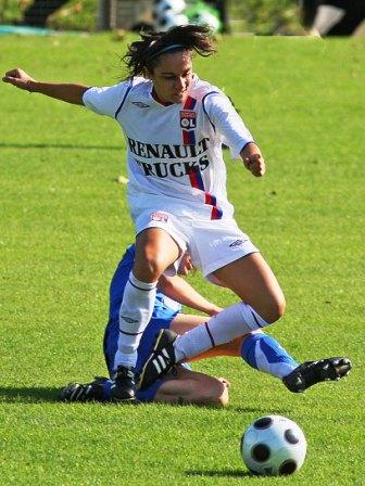 Sandrine Brétigny termine à la 2e place (photo : Van Gol)