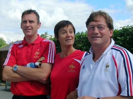 Gérard Sergent, Françoise Le Hazif et José Planas