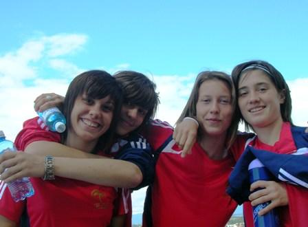 Rose Lavaud, Camille Desforges, Pauline Peyraud Magnin et Caroline La Villa