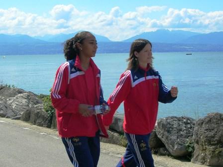 Saïda Akherraze et Anaig Butel
