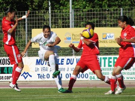 Deux passes décisives pour Bouheni Benziane (photo : Sébastien Duret)