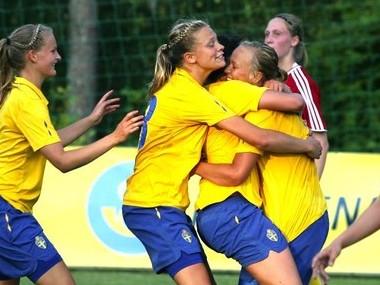 16 ans : la France s'incline devant la Suède