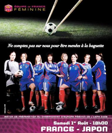 L'affiche du match (source : FFF)
