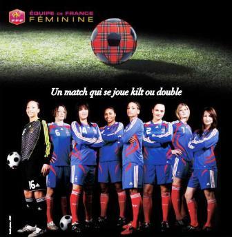 L'affiche du match (source : FFF)