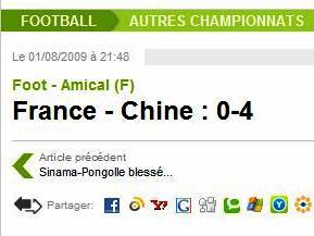 TV : L'Euro 2009 des Bleues en différé !