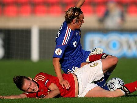 Les partenaires de Soubeyrand joueront la qualification face à la Norvège (photo : dfb)