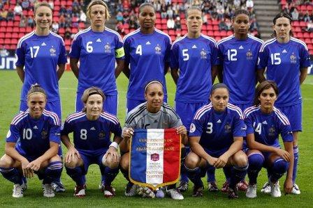 L'équipe de France (photo : Nora Kruse)