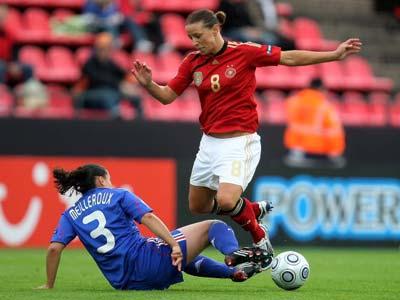 Les Bleues ne sont pas encore à terre (photo : uefa.com)