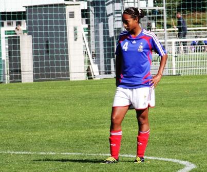 Saïda Akherraze, appelée en renfort (photo : Sébastien Duret)
