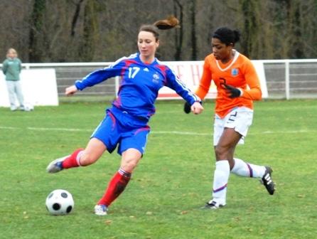 Thiney et les Bleues devront se méfier des Oranje (photo : Sébastien Duret)