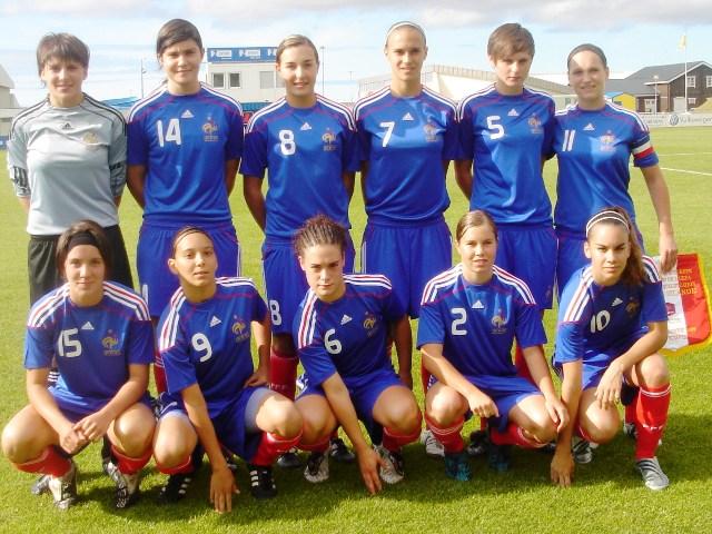 Les Françaises victorieuses de l'Islande (photo : CD)