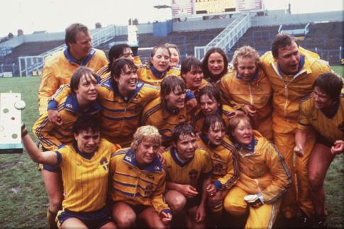 La Suède est la première championne d'Europe de l'UEFA (photo SVF)