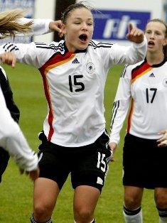 Chojnowski offre la qualification à l'Allemagne (photo : dfb)