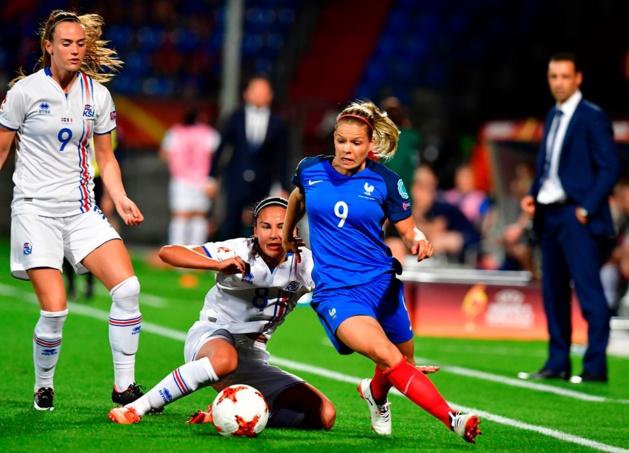 Le Sommer a son 61e but en sélection (photo UEFA.com)