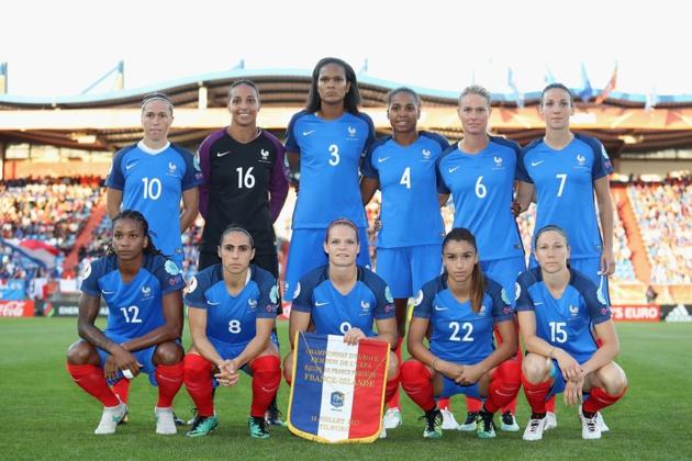 #WEURO2017 - Groupe C : la FRANCE arrache la victoire