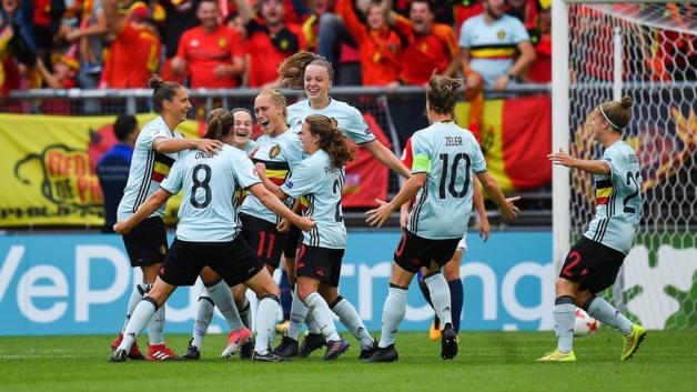 La Belgique a fait plaisir à son public