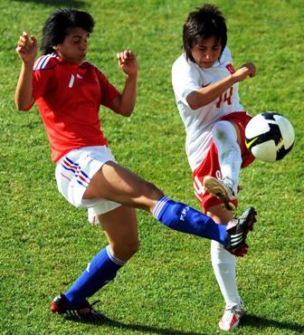Dali, à gauche, a inscrit le premier but (photo : TFF)