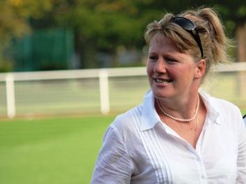 Brigitte Henriques, ex-internationale A, désormais manager général du PSG (photo : Sébastien Duret)