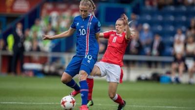 La Suisse avec Dickenmann n'a pas dit son dernier mot dans cet Euro (photo UEFA.com)