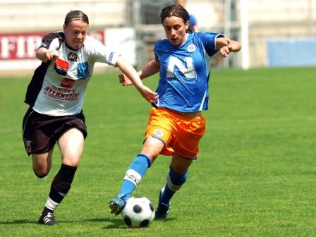 Butel à gauche et Juvisy ont lutté la saison dernière pour la 2e place avec Montpellier (photo : MHSC)