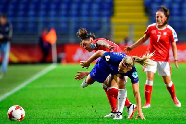 Les Bleues ont été à la peine pour se qualifier (photos UEFA.com)