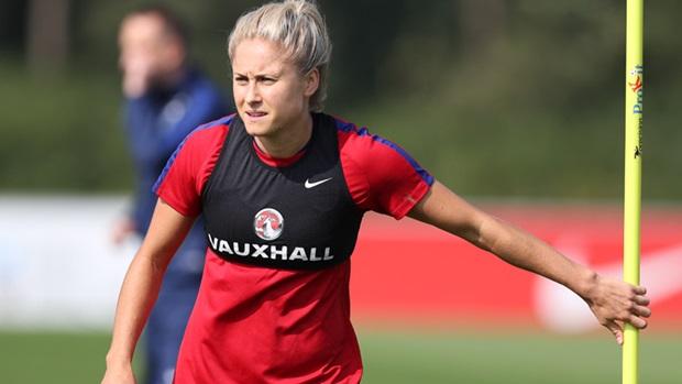 Houghton est devenue la capitaine depuis l'arrivée de Sampson (photo FA)