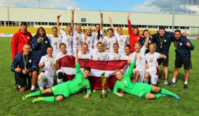 Internationaux - La BALTIC CUP pour la LETTONIE