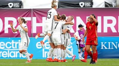 L'Allemagne a battu l'Espagne 2-0 ce vendredi